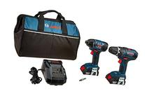 Bosch CLPK232-181 18V 2-Tool Combo Kit  with  2.0 Ah