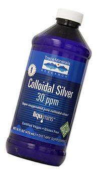 Trace Minerals Research CLS02 - Colloidal Silver 30 PPM