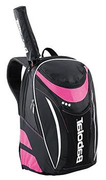 BABOLAT Club Line Backpack, Black/Pink