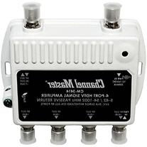 Channel Master CM3414 4-Way Distribution Amplifier -