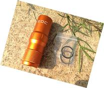 Szhoworld CNC Machined Aluminum EDC Survival Waterproof Pill