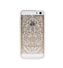 Rifle Paper PIC028-6T Floral Lace Protective Case for iPhone