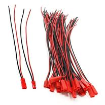 CO-RODE Male Female 200mm 22AWG Wire Cable 2Pin JST M F