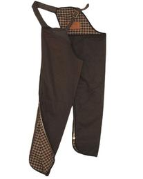 Outback Trading Oilskin Chaps XLarge Bronze