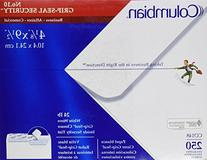 "Columbian #10 Security Tinted Envelopes, Grip-Seal, 4-1/8"" x"