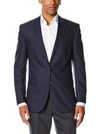 Ike Behar Men's Sport Coat, Navy, 40 Short