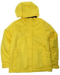 Ride Cobra Snowboard Jacket Yellow Youth Sz XL
