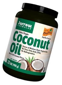 Jarrow Coconut Oil 100% Organic, Extra Virgin 908 GM