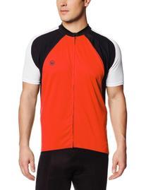 Canari Cyclewear Men's Cody Jersey, Lava, Large