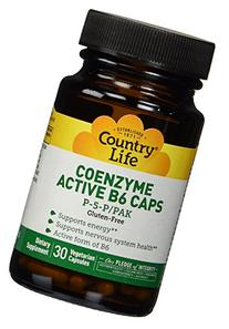 Country Life - Coenzyme Active B-6, 50 mg - 30 Vegetarian
