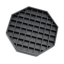 Coffee Countertop Octagon Drip Tray - 6 - Black