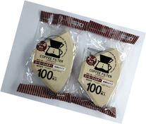 Daiso Coffee Filter Paper 102  Brown 100 pieces x 2 Bags