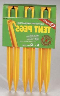 COGHLANS LTD. ABS TENT PEG 12 inches 6 Pack