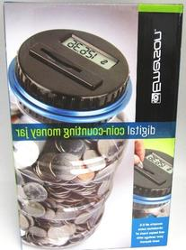 Emerson Digital Coin-Counting Money Jar