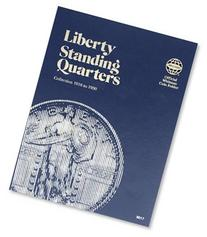 Coin Folders Quarters: Liberty Standing