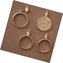 Coin Holder Bezel for 5 cent / USA Nickel ~ for charm,