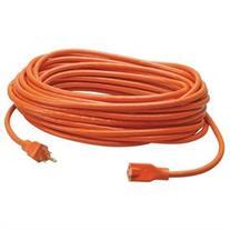 Coleman Cable Power Extension Cord - Orange