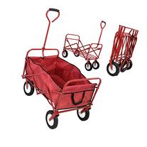 Collapsible Folding Wagon Cart Garden Buggy Shopping Beach
