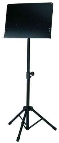 Gearlux Collapsible Solid Top Orchestra Music Stand - Black