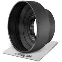52MM Collapsible Rubber Lens Hood for Camera Lens with 52MM