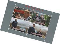 Collectable Stamps - James Bond 007 Skyfall Daniel Craig MNH