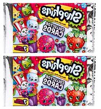 Shopkins Collector Cards - 2 Packs