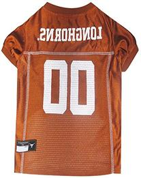 Pets First Collegiate Texas Longhorns Dog Mesh Jersey, X-