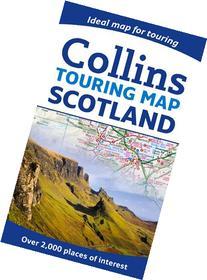 Collins Touring Map Scotland