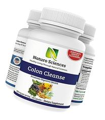 Naturo Sciences Colon Care - Gently Detoxify your Insides -
