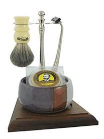 Colonel Conk Model 249 5-Piece Santa Fe Cup Shave Set With