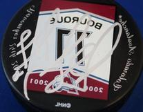 Colorado Avalanche Ray Bourque Autographed Puck