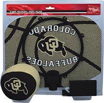 NCAA Colorado Buffaloes Kids Slam Dunk Hoop Set, Black,
