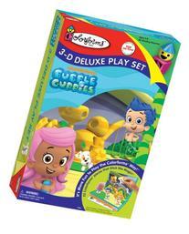 Colorforms 3D Deluxe Play Set Bubble Guppies Sticker Kit