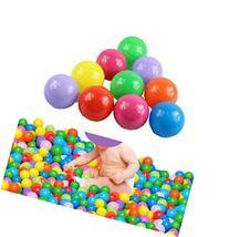 Qingsun 100pcs Colorful Ball Fun Ball Soft Plastic Ocean