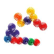 MICHLEY Colorful Interlocking Building Roller Blocks Play