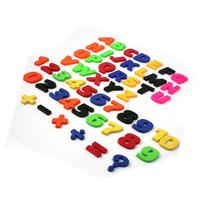 Set Of 52 Colorful Teaching Magnetic Letters & Numbers