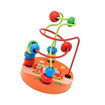 Deercon Children Kids Baby Colorful Wooden Mini Around Beads