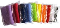 ColorYourLife 10 Pairs Colorful Sports Wristbands Wrist