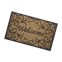 Achim Home Furnishings COM1830VN6 Vines Coco Door Mat, 18 by