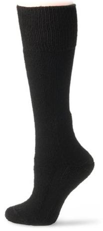 Thorlo Men's Combat Boot Overcalf Socks, Black, X-Large
