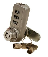 "Combi-Cam Ultra 7440L 1-1/8"" Cylinder Combination Cam Lock"