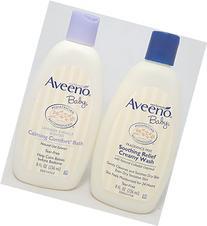 Aveeno Baby Combo Pack: 8 fl oz Lavender Vanilla Calming