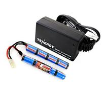 Combo: Tenergy 9.6V 1600mAh Butterfly Mini NiMH Battery Pack