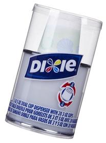 Dixie® 3oz/5oz combo dispenser
