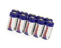 Combo: 10pcs Tenergy Propel CR123A Lithium Batteries with