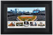 Comerica Park Detroit Tigers Framed Stadium Panoramic with