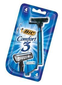 Bic Comfort 3 Men Razor 4 Size 4ct Bic Comfort 3 Men Razor