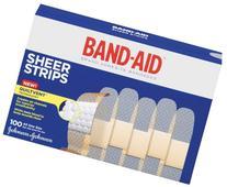 Band-Aid Band-Aid Comfort-Flex Sheer Adhesive Bandages 3/4 X