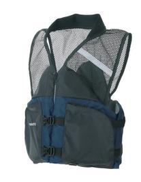 Stearns Comfort Series Collared Angler Vest PFD, Navy, Small