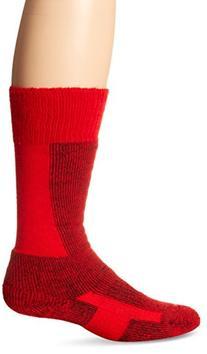 Thorlo Women's Comfort Ski Sock-Small-Fire Red, Fire Red,